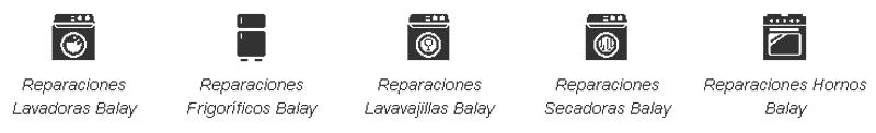 Reparaciones electrodomésticos Balay Sevilla