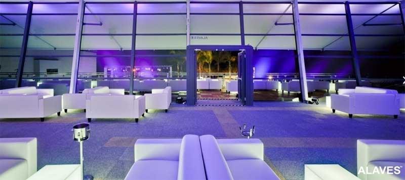Montaje lounge Starlit Marbella