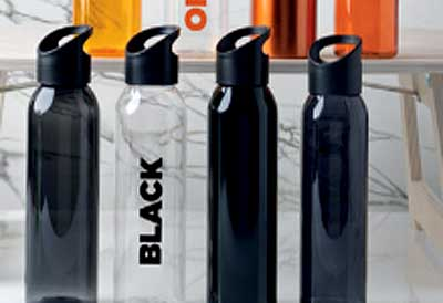 Botellas para acampadas