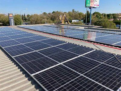 Instalación paneles fotovoltaicos