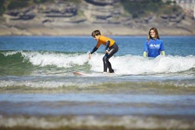 Surf para niños Cantabria
