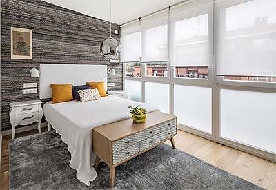 Instalación de ventanas en PVC para dormitorio