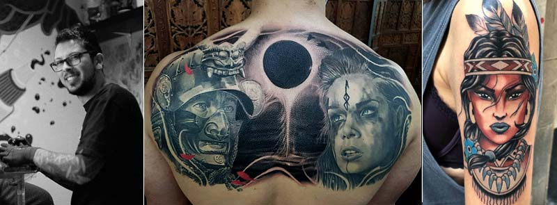 Trabajos tatutajes Javi Pato