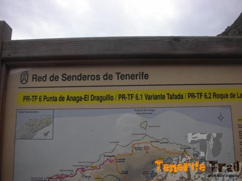 Detalle mapa sendero Draguillo