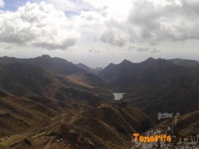 Detalle del Valle Tahodío por donde bajaremos hacía Santa Cruz