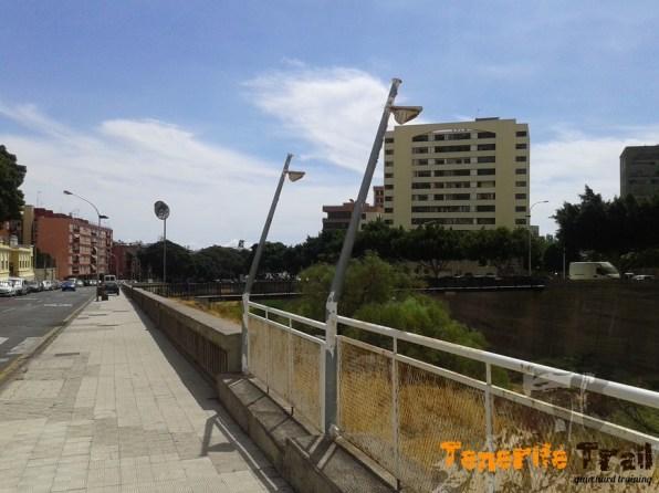 Llegando a Santa Cruz de Tenerife