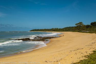 Foto da Praia do Rio Verde, em Trancoso, BA – Crédito da Foto: © Ricardo Junior Fotografias.com.br