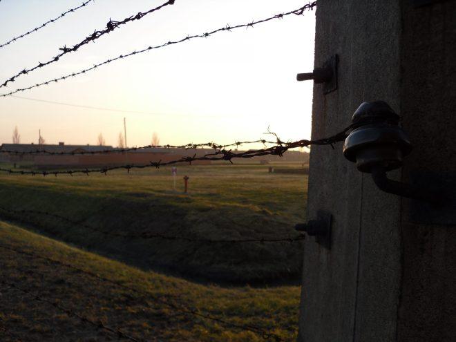 Tramonto a Birkenau  Fot. Michele