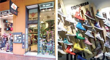 2b89c2ab685f FINI SPORT. Sportswear Via Indipendenza, 52 – Bologna Tel. 051 246317 –  www.finisport.it. Open from Monday to Saturday 9.40am-7.30pm