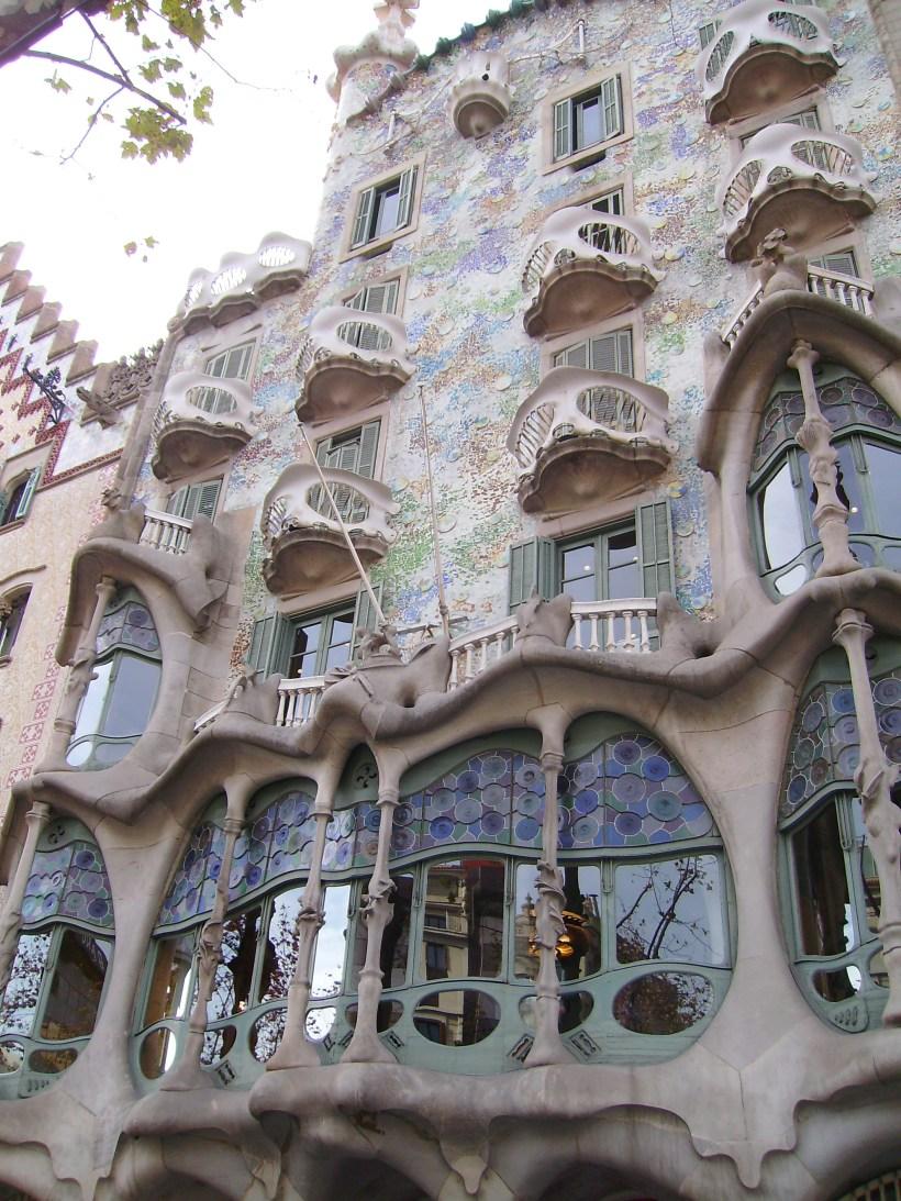 Barcellona - Casa Batllò (esterno)