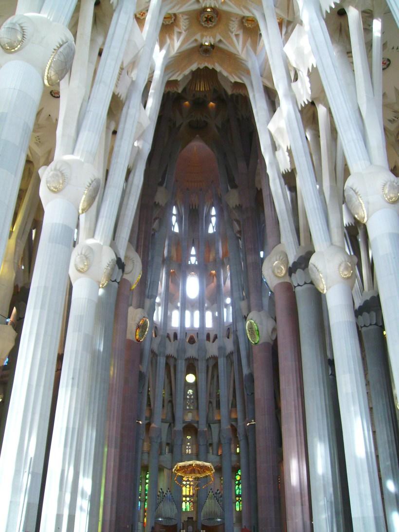 Barcellona - Sagrada Familia (interno)