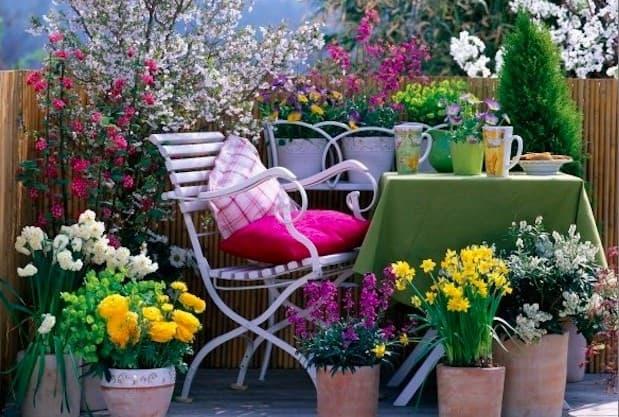terrazzo primavera