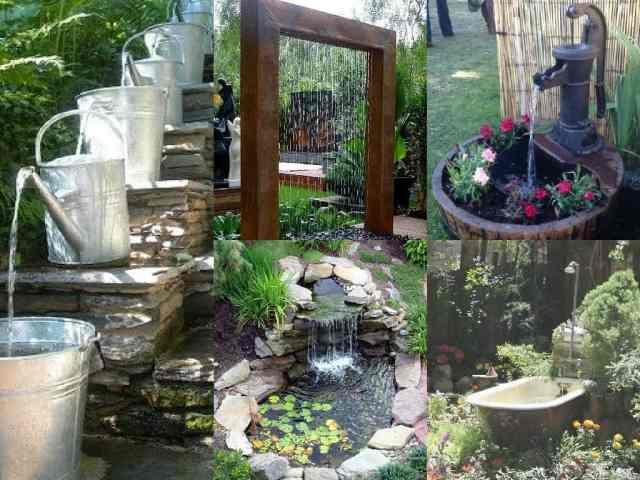 15 idee per realizzare laghetti fontane e giardini for Arredare i giardini
