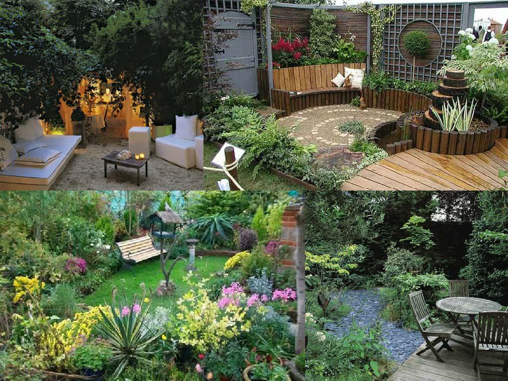 12 idee per giardini di piccole dimensioni guida giardino for Giardino piccolo