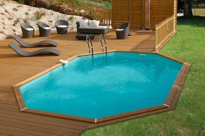 Piscine in legno la soluzione più conveniente per il giardino