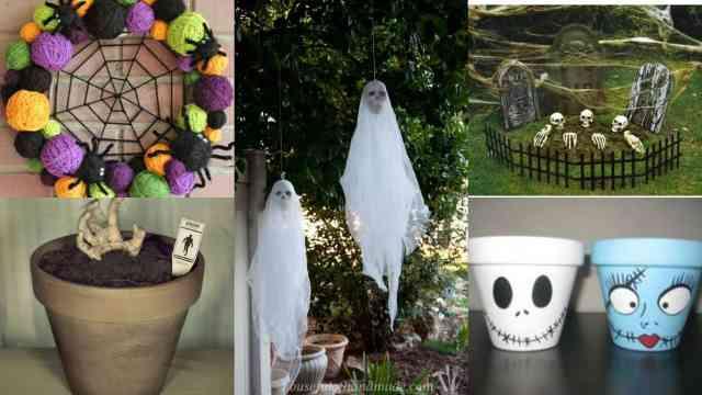 17 idee per decorare il giardino in occasione della festa di halloween guida giardino - Idee per decorare il giardino ...