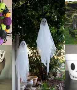 17 idee per decorare il giardino in occasione della festa di Halloween