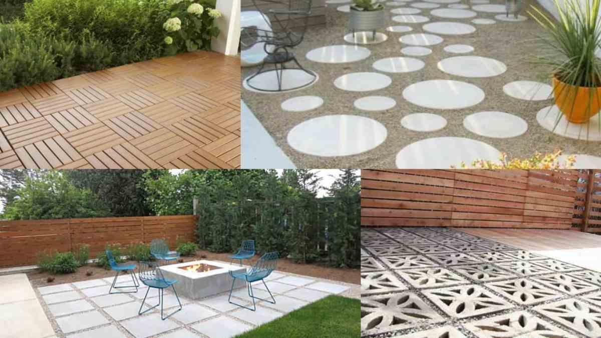 9 soluzioni per la pavimentazione di una zona del prato for Arredamento da giardino prato