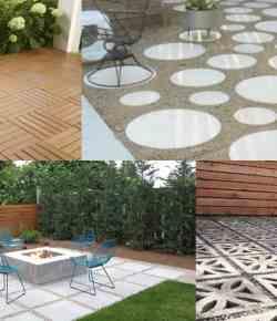 9 soluzioni per la pavimentazione di una zona del prato