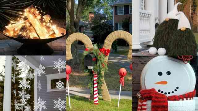 Decorazioni natalizie balcone portico e giardino guida giardino - Decorazioni natalizie per esterno ...