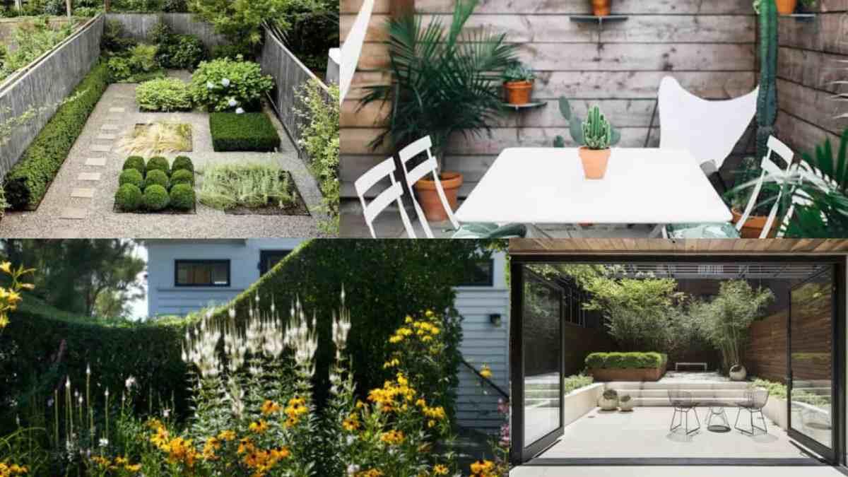 12 suggerimenti per far apparire pi grande un piccolo - Piccolo giardino ...