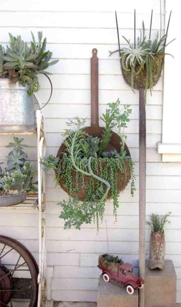 giardinaggio creativo nell'orto