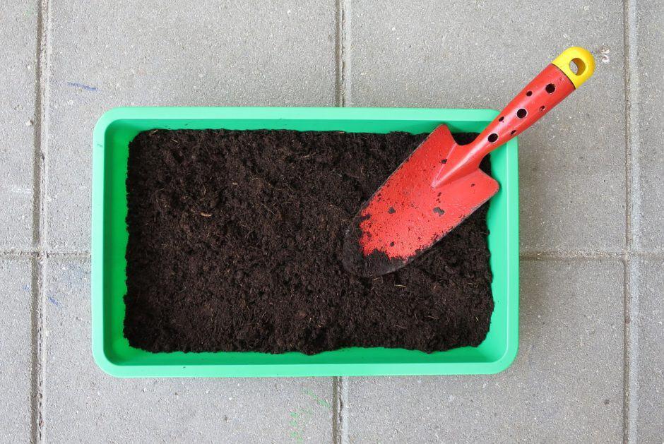 Terriccio per coltivare l'orto