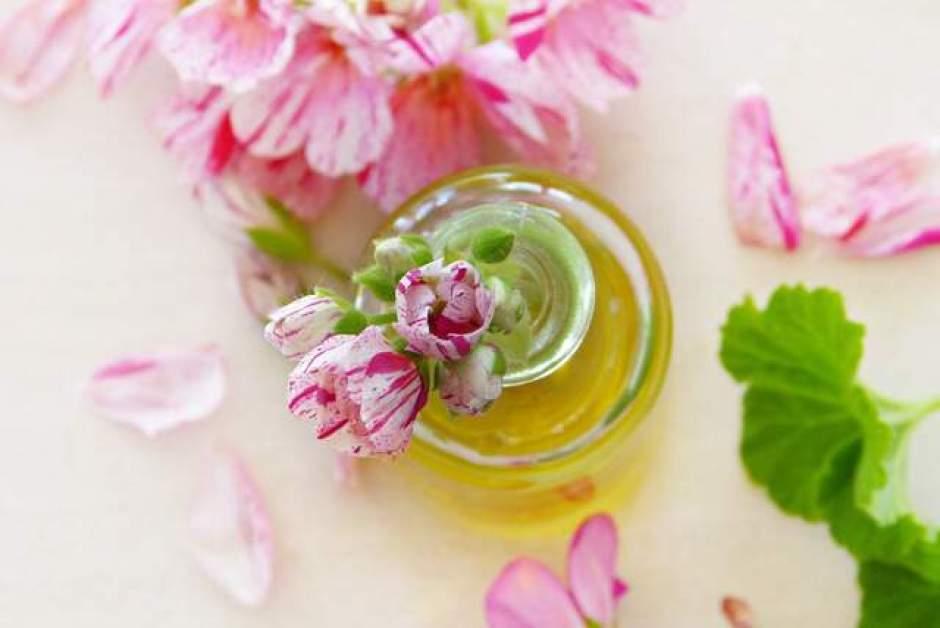 Olio essenziale di geranio