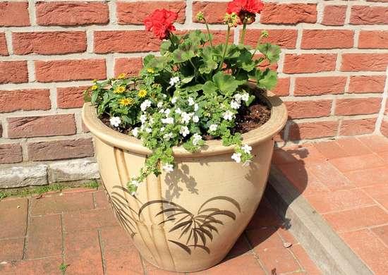 Fioriera di terracotta per il giardino, un modo perfetto per decorare anche gli angoli più spogli del giardino