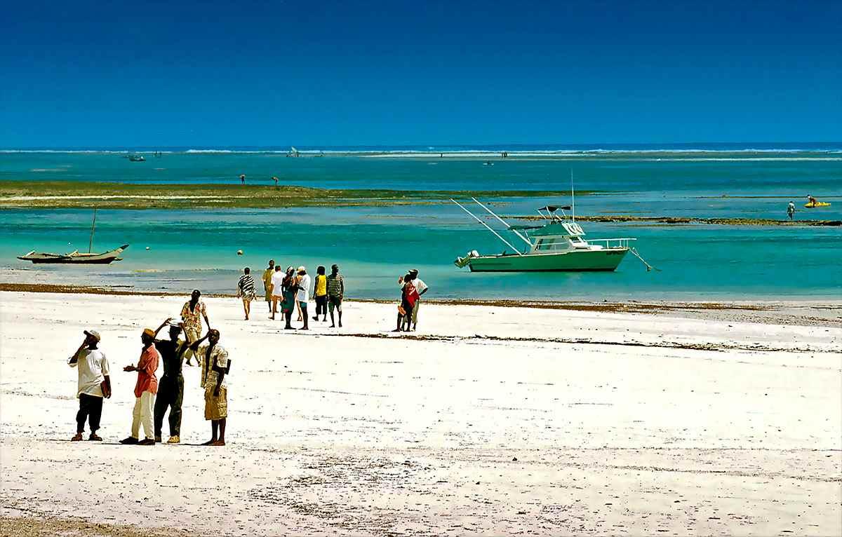 plage de diani beach Kenya