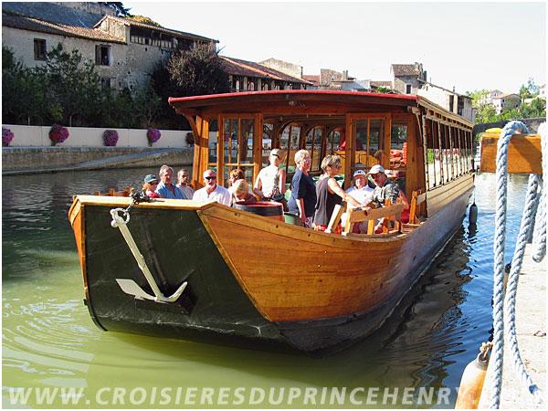 Les Croisières du Prince Henry - Boat trips in Nérac