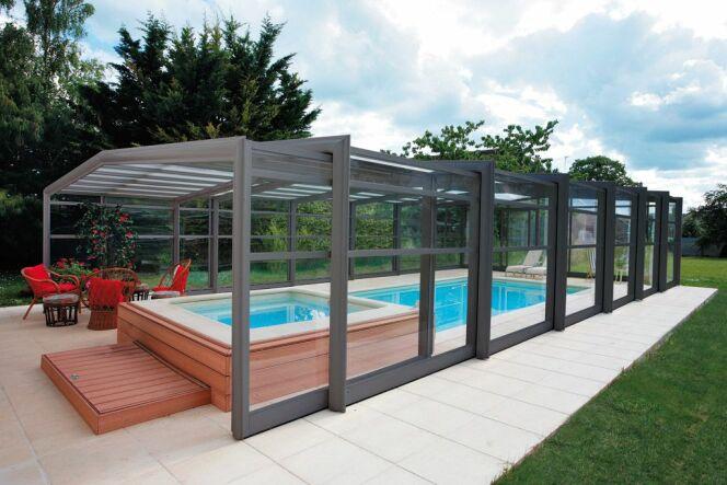 le prix d un abri de piscine haut