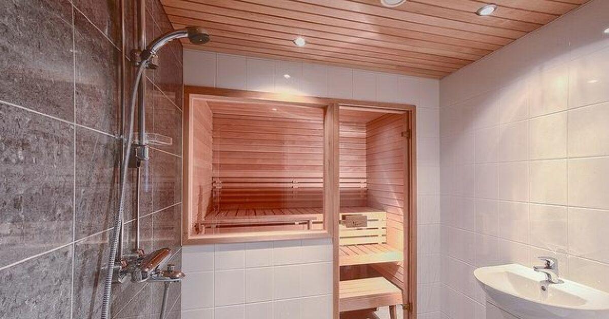 Maison Sauna Beautiful Cabine De Sauna Basic Massiv