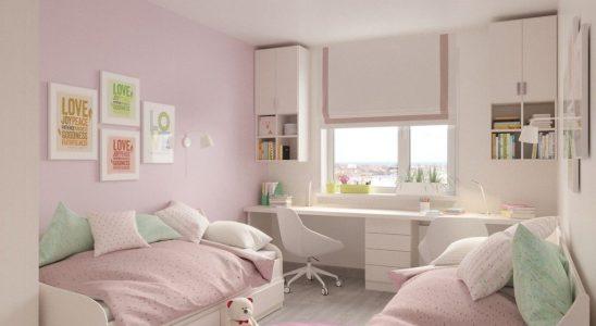 fenêtre pour une chambre d'enfant