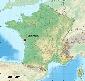 carte-location-charron-charente-maritime