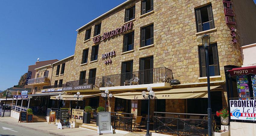 Hotel-le-Subrini-Porto-Ota-Corse