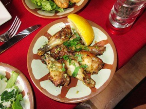 ailes de poulets loubnane