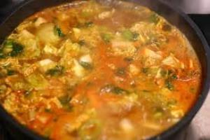 soupe des hortillons