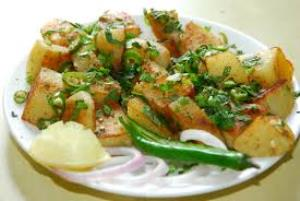 Aloo Chaat ou alu chaat11