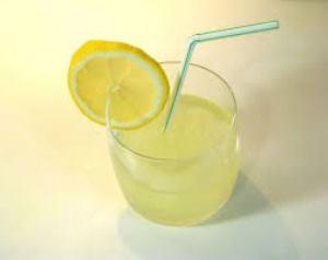 agua limone