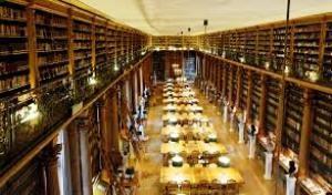 salle de lecture de la Bibliothèque Mazarine