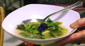 Cousinette ou soupe verte à la mauve