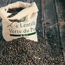 Lentille verte du Puy en Velay