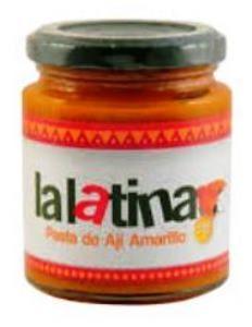 Pâte de aji amarillo la latina