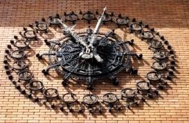 Horloge du Central téléphonique Bergère