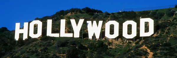 Hollywood-skiltet i Californien