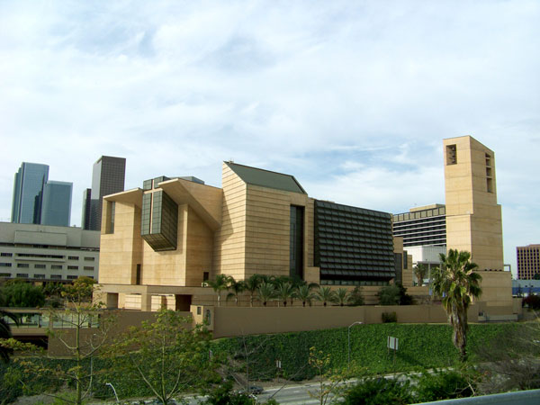 LA Cathedral of Our Lady of the Angels