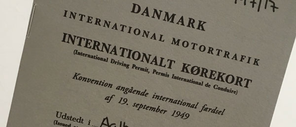 Et Internationalt Kørekort Vanreitoubucf