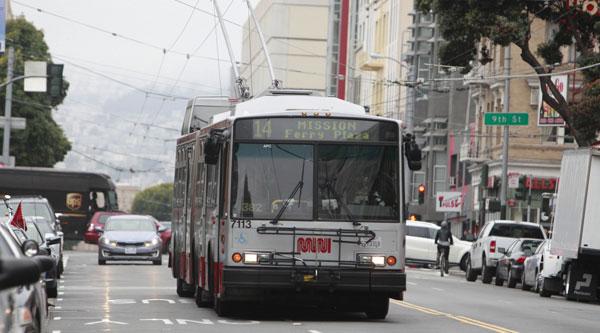 Muni bus San Francisco