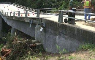 Pfeiffer Canyon Bridge Collapse